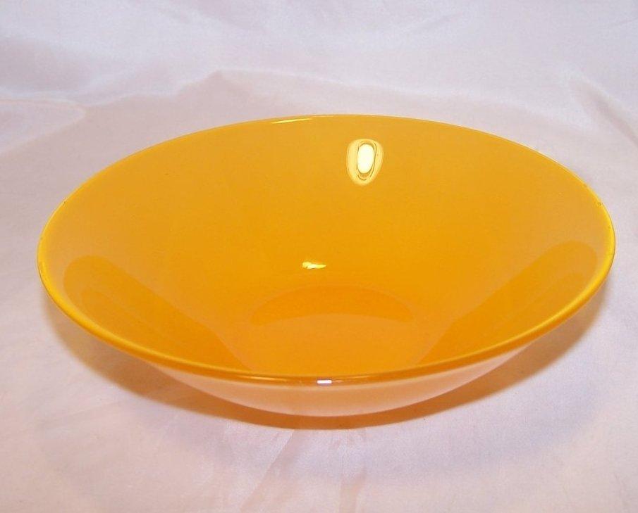 Image 2 of Soup Bowl, Luscious Lemon Yellow, ARC France