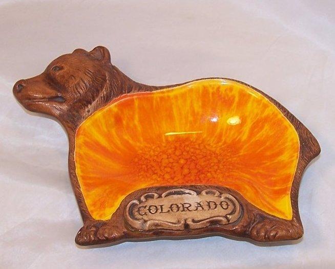 Treasure Craft Colorado Bear Dish, Bowl, USA