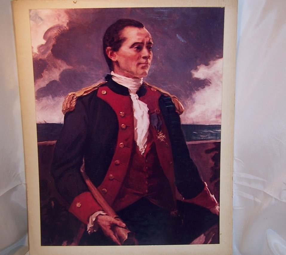 John Paul Jones, Navy Photo of Original Painting