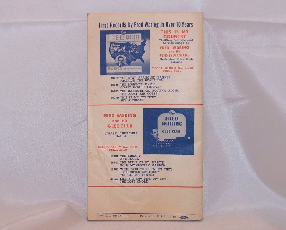 Image 4 of Decca Records Combined Supplement and Catalogue, Vintage
