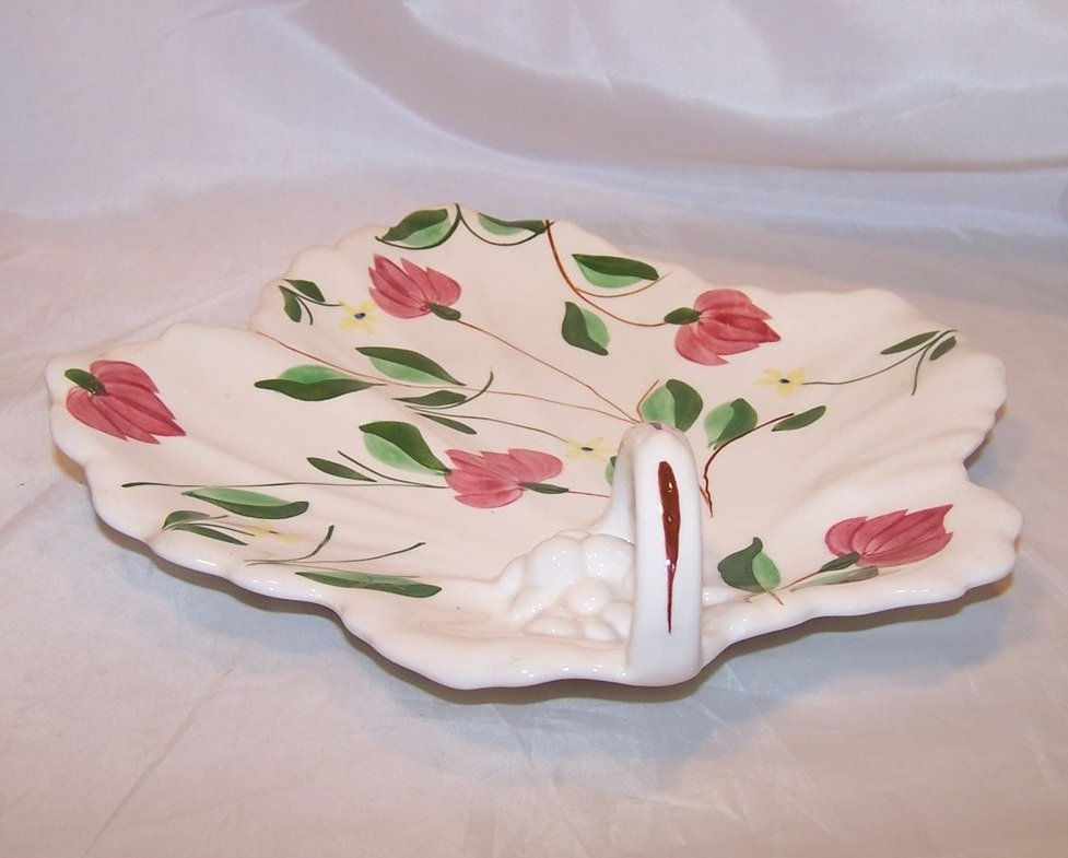 Image 2 of Blue Ridge China Maple Leaf Cake Plate, Southern Potteries