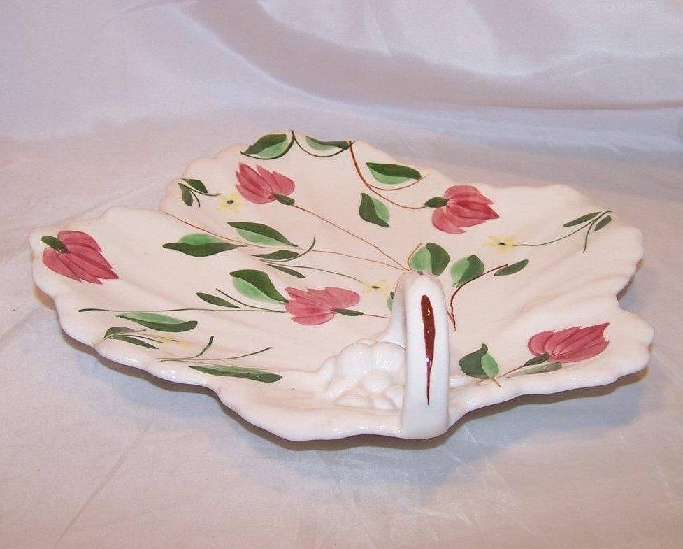 Image 2 of Blue Ridge China Maple Leaf Cake Plate, Southern Potteries