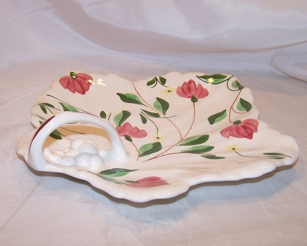 Image 3 of Blue Ridge China Maple Leaf Cake Plate, Southern Potteries