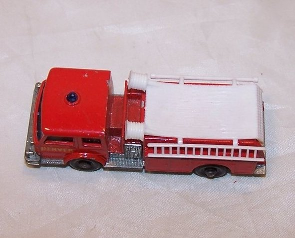 Image 3 of Lesney Matchbox Series Die Cast Toy Fire Pumper Truck, VGC