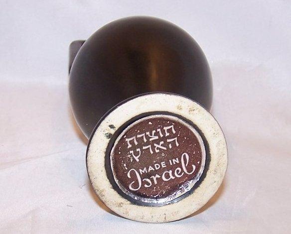 Image 5 of Holy Land Clay Jug, Vase, Classic Elegance, Israel