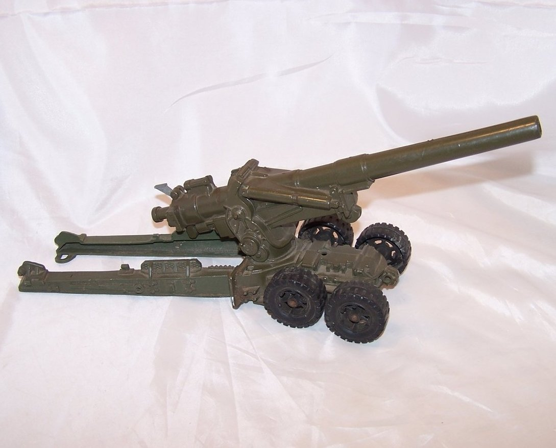 Image 0 of MAR Plastic Toy Cannon on Trailer