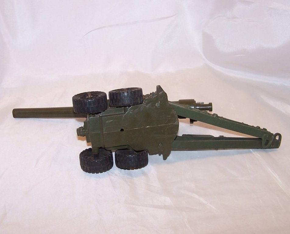 Image 5 of MAR Plastic Toy Cannon on Trailer