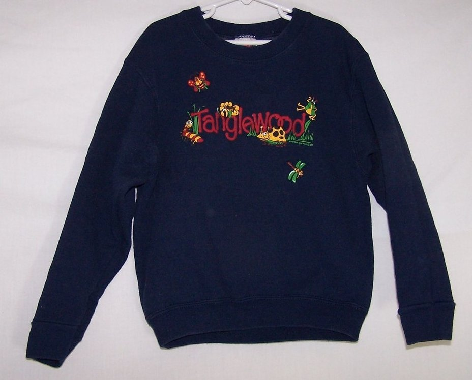 Image 0 of SZ 10, 12 Tanglewood Sweatshirt, Unisex, Very Cute w Bugs