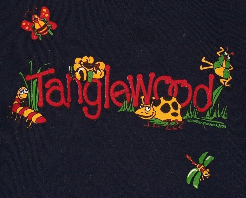 Image 1 of SZ 10, 12 Tanglewood Sweatshirt, Unisex, Very Cute w Bugs