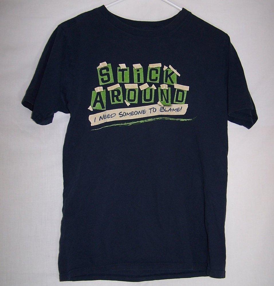 Boys Sz 12, 14, Stick Around T Shirt