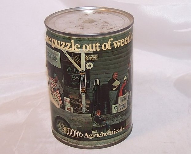 DuPont Agrichemicals Promotional Puzzle, Sealed Can, 1976