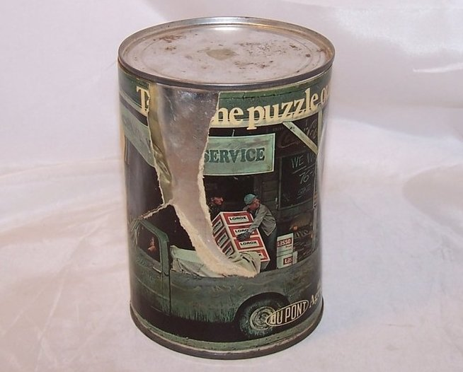 Image 3 of DuPont Agrichemicals Promotional Puzzle, Sealed Can, 1976