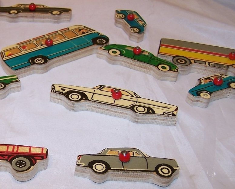 Image 2 of Car, Vehicle Wood Puzzle, Simplex, Holland