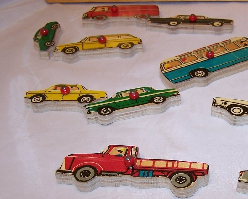 Image 3 of Car, Vehicle Wood Puzzle, Simplex, Holland