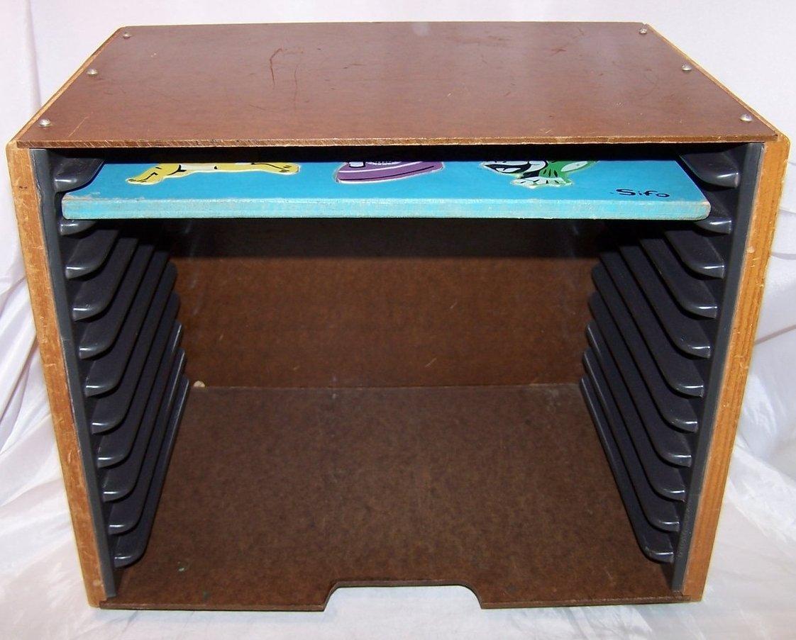 Sifo Puzzle Box, Wooden 12 Puzzle Storage w Puzzle