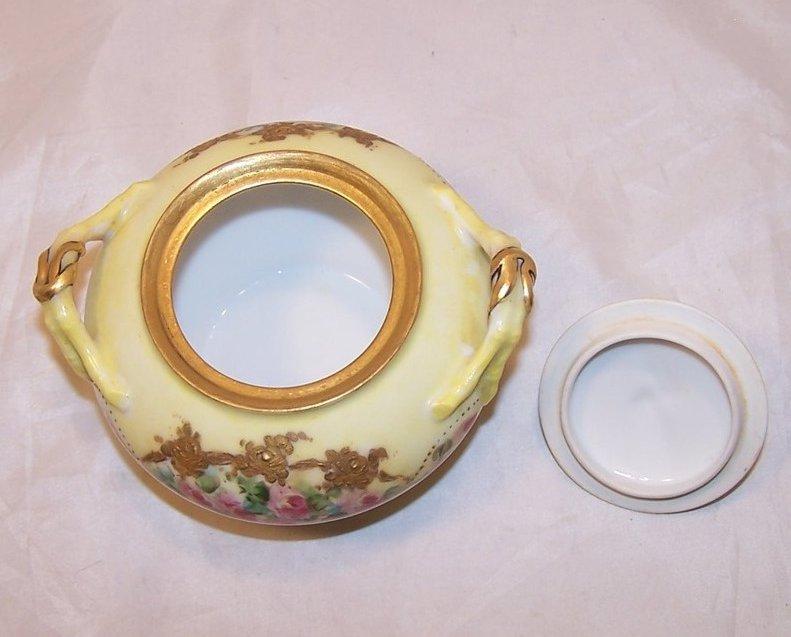 Image 4 of La Ceramique, Jean Pouyat, Limoges Lidded Sugar Bowl, France