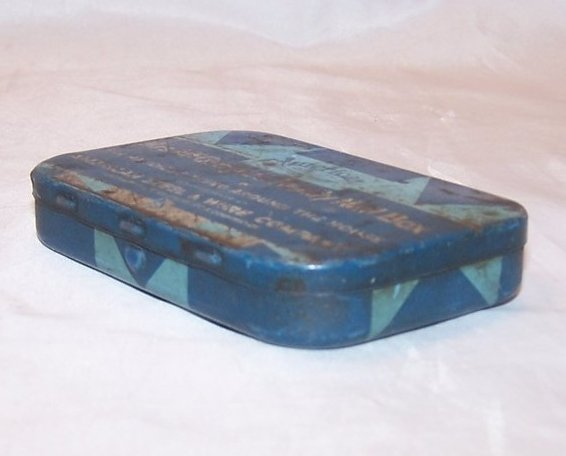 Image 1 of Mrs McGregors Family Nail Tin Box, American Steel and Wire