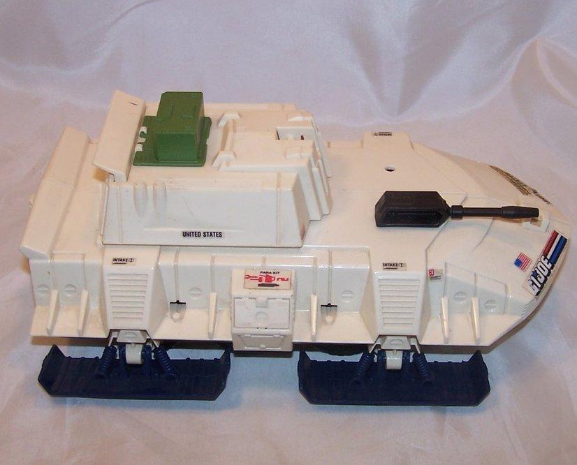 GI Joe Snow Vehicle w Car, Battle Force 2000, Hasbro, 1987