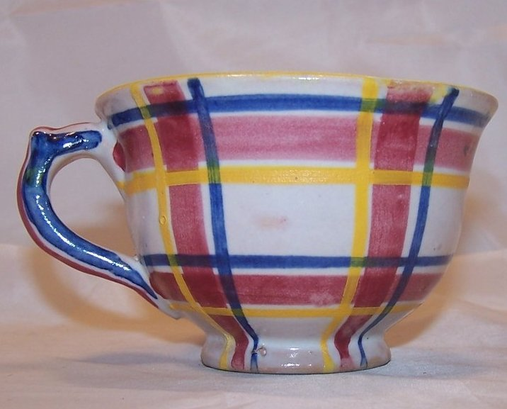 Image 0 of Rubicon Coffee Cup, Handmade, Hand Painted, Rare, Italy
