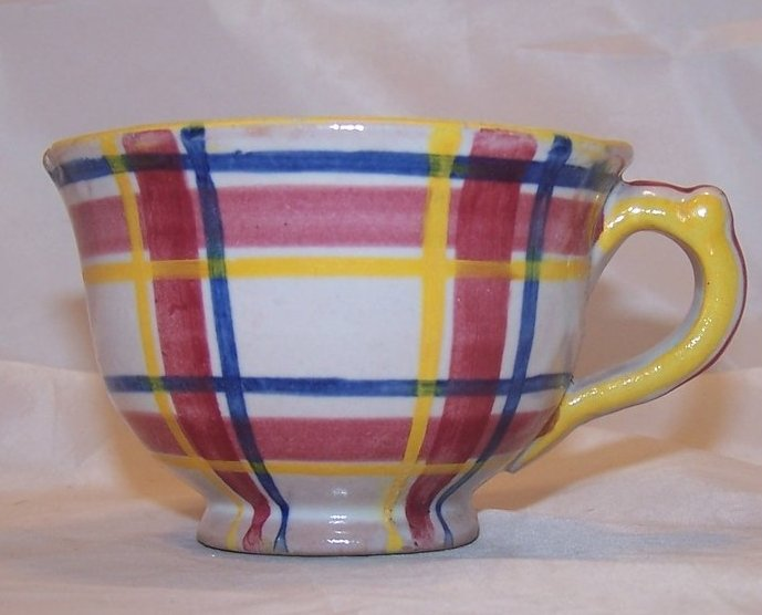 Image 1 of Rubicon Coffee Cup, Handmade, Hand Painted, Rare, Italy