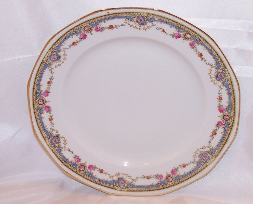 Johann Haviland Rose Garland Salad Plate, 10491 28