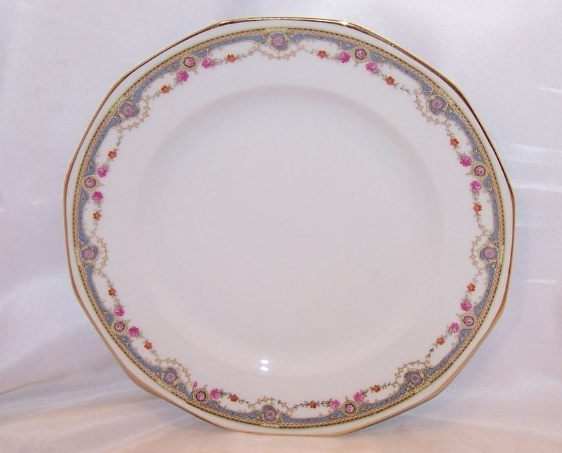 Image 0 of  Johann Haviland Rose Garland Dinner Plate, 10491 28