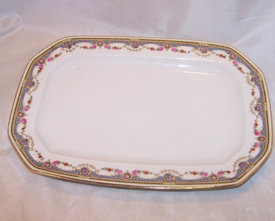 Johann Haviland Rose Garland Serving Platter, 10491 23