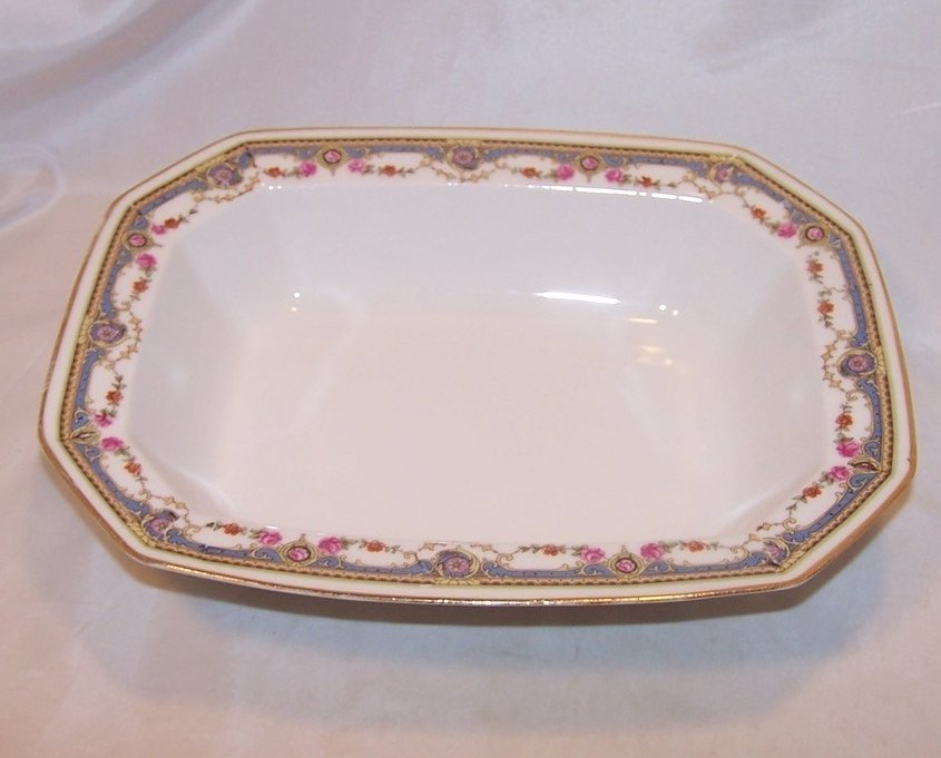 Haviland France Cherry Branch Plate, Artist Signed Magoris