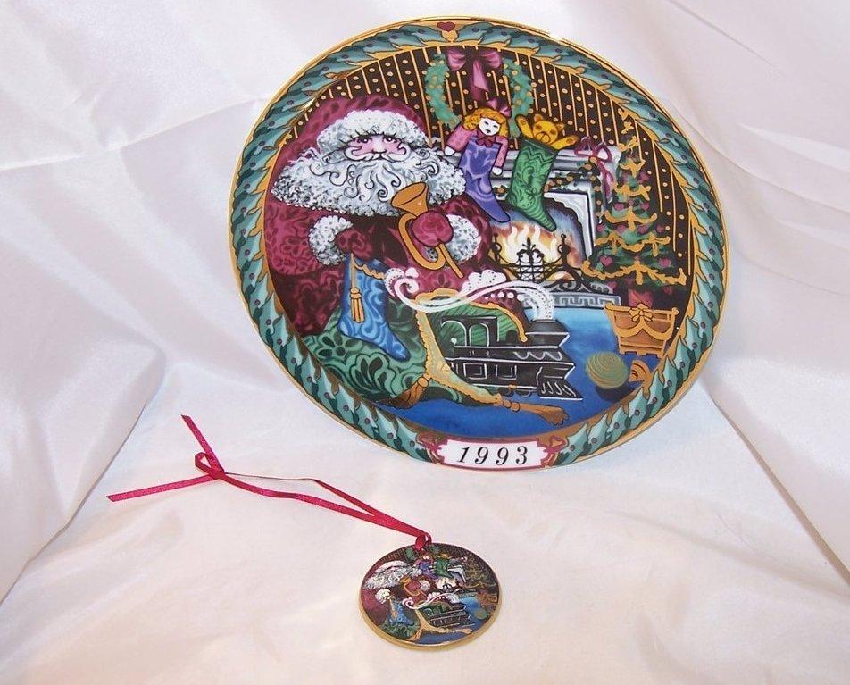 Hans Henrik Hansen Santas Gifts Plate, Christmas Ornament