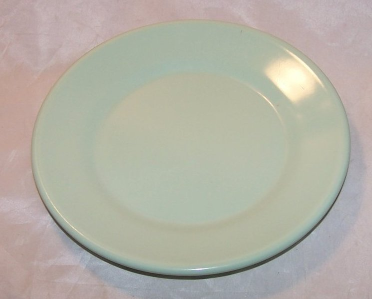 Image 0 of Arrowhead, Texas Ware Green Melmac Melamine Plate
