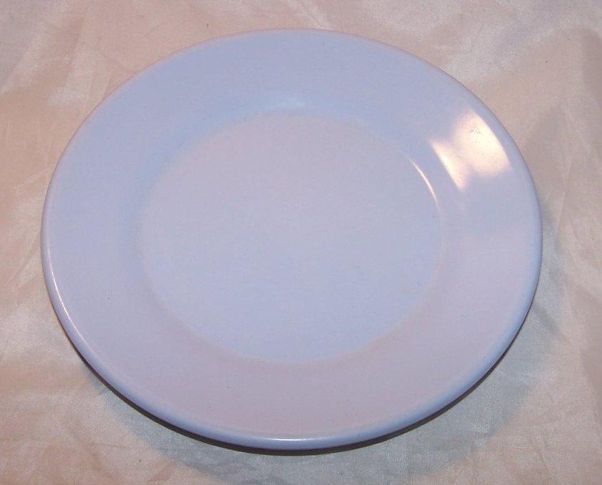 Arrowhead, Texas Ware Blue Melmac Melamine Plate
