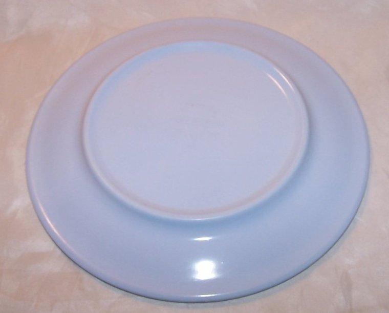 Image 1 of Arrowhead, Texas Ware Blue Melmac Melamine Plate