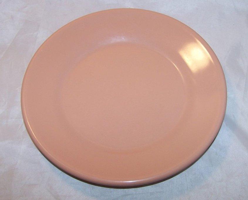 Arrowhead, Texas Ware Salmon Pink Melmac Melamine Plate
