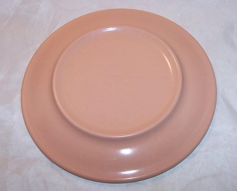 Image 1 of Arrowhead, Texas Ware Salmon Pink Melmac Melamine Plate