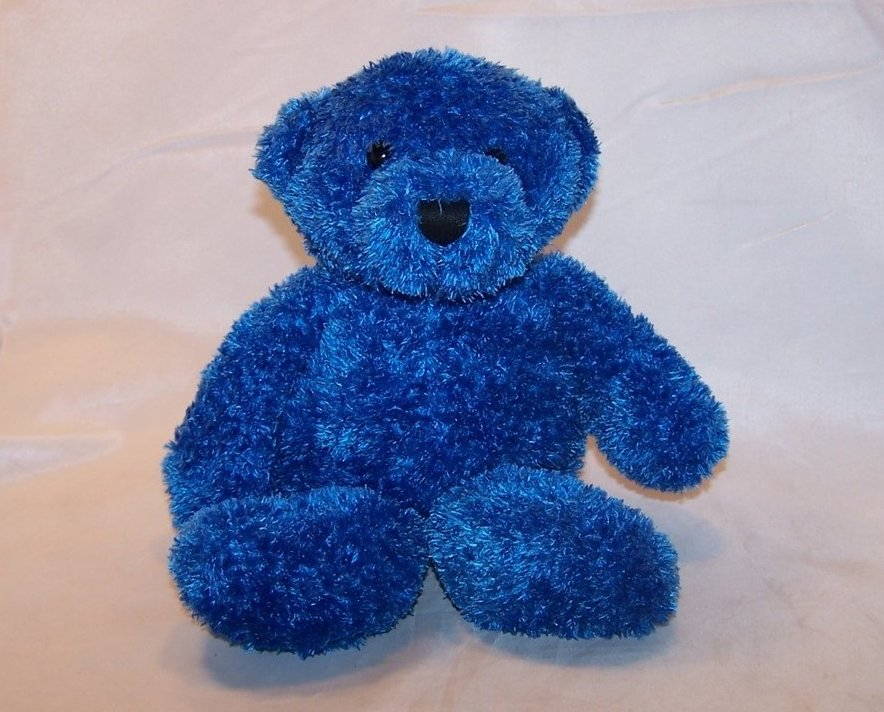 Blue Bear Stuffed Plush, Its All Greek To Me