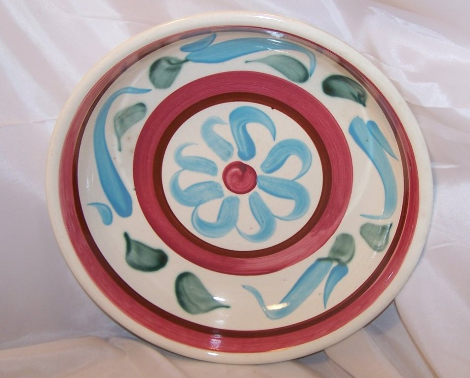 Rustic Ware Quiche Plate, Deep Pie Plate, RRP Co Roseville Oh