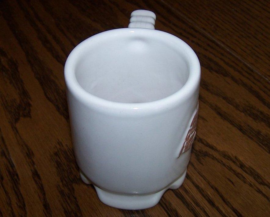 frankoma crab mug coffee cup c1 oklahoma usa. Black Bedroom Furniture Sets. Home Design Ideas