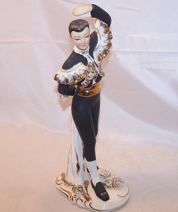 Lefton Matador and Roses Figurine KW10292
