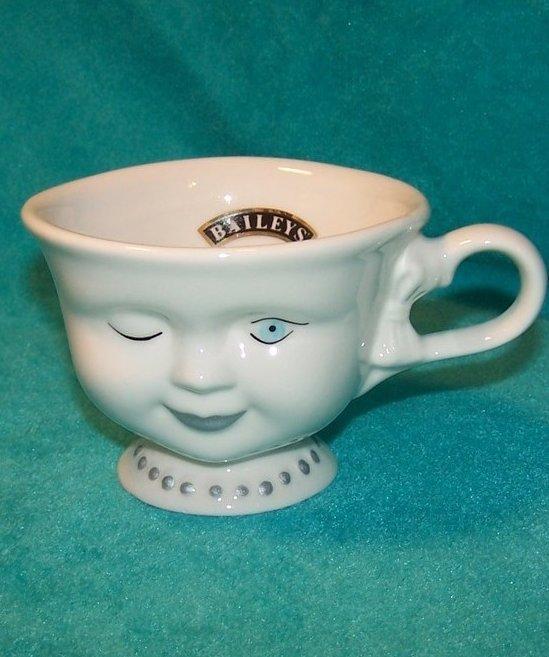 Helen Hunt Baileys Cup w Winking Face