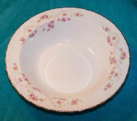 Image 1 of Pope Gosser Round Vegetable Bowl Dish Florence Rose Garland