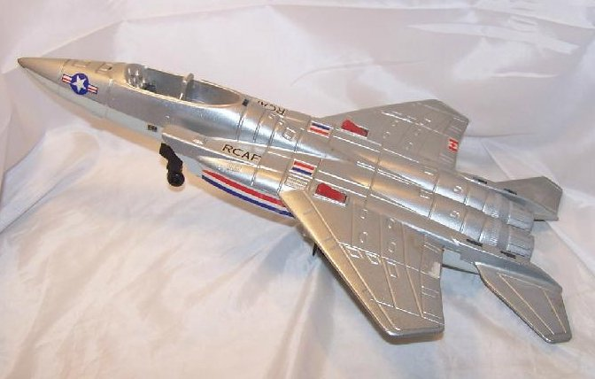 Atomic Missile Die Cast Working Scale Model, Xonex