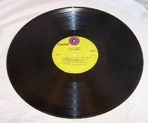 Image 3 of Wichita Lineman, Glen Campbell Record, Capitol Records