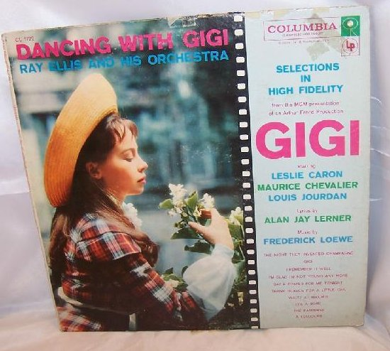 Dancing With Gigi, Ray Ellis Orchestra, Columbia Records, LP