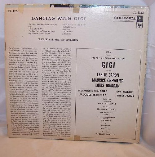 Image 3 of Dancing With Gigi, Ray Ellis Orchestra, Columbia Records, LP