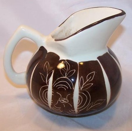 Image 1 of Purinton Pottery Intaligo Kent Jug Pitcher William Blair