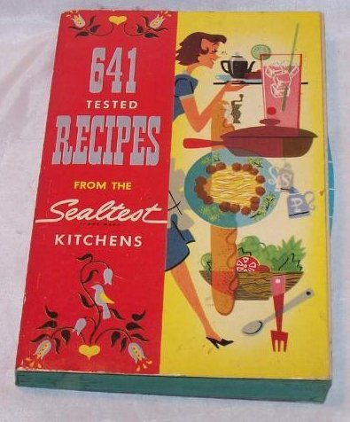 Cookbook Recipes from the Sealtest Kitchens, First Ed 1954