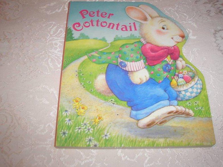 Peter Cottontail Karen Lee Schmidt very good Easter board book