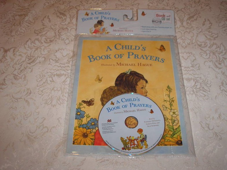 A Child's Book of Prayers brand new sc with Audio CD Michael Hague