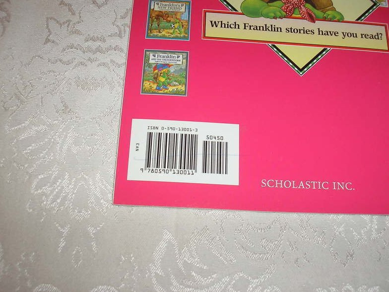 Image 1 of Franklin's Valentines Paulette Bourgeois Like New Softcover