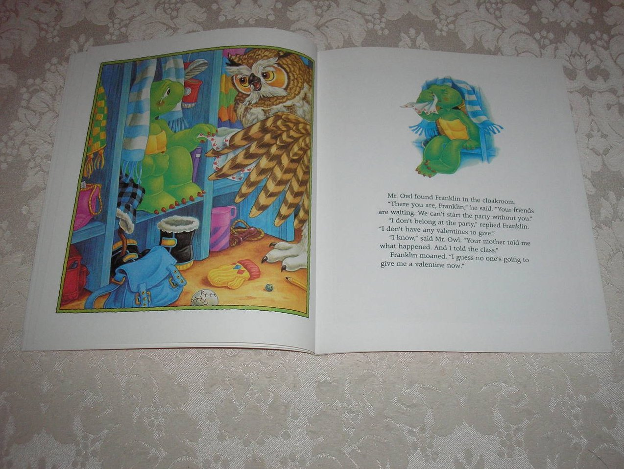 Image 4 of Franklin's Valentines Paulette Bourgeois Like New Softcover
